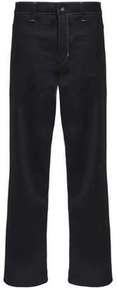 Helmut Lang High-Rise Straight-Leg Jeans