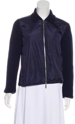 The Row Rib Knit Zip-Up Jacket