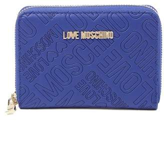 Love Moschino Superquilt Zip Around Wallet