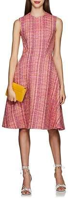 Prada Women's Wool Bouclé Tweed Sheath Dress