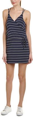 Chaser Crossover Mini Dress