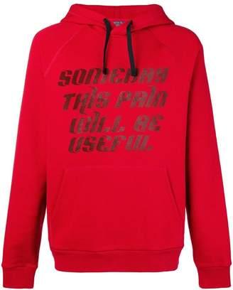 Lanvin graphic print hoodie
