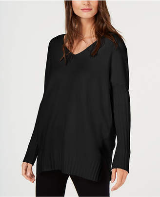 French Connection Ribbed V-Neck Sweater
