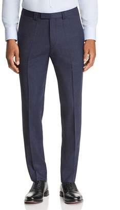 HUGO Hesten Micro-Check Slim Fit Suit Pants