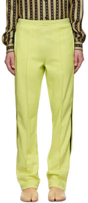 Maison Margiela Yellow Side Band Track Pants