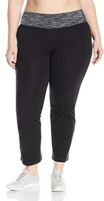 Fruit of the Loom Fit for Me by Women's Plus Size Relaxed Yoga Pant