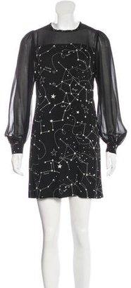 Sandro Rhoda Constellation Dress $95 thestylecure.com
