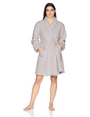 Arabella Women's Shaggy Plush Short Robe