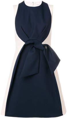 DELPOZO bicolour dress