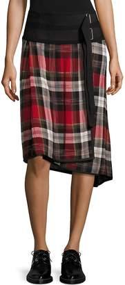 Public School Women's Ilha Plaid Wrap Skirt