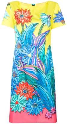 Marc Cain printed flowers midi dress