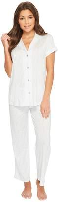 Natori Nara Short Sleeve PJ Women's Pajama Sets