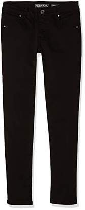 GUESS Girl's J83b07wa060 Trouser, (Fancy Blue Fabl), (Size: 16)
