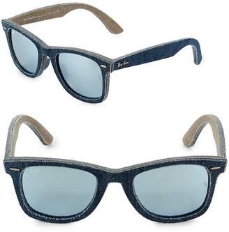 Ray-Ban Women's 52MM Denim Wayfarer Sunglasses