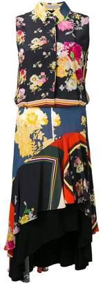 Preen Line Ina floral foulard dress