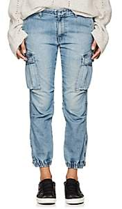 "Nili Lotan Women's ""French Military"" Cargo Jeans - Vintage Wash"