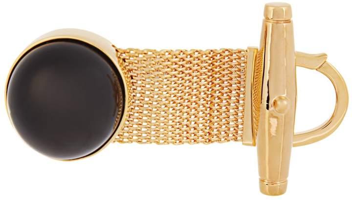 Balenciaga BALENCIAGA Watch-strap stone bracelet