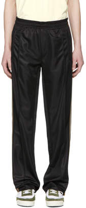 Our Legacy Black Banded Solid Stiff Track Pants