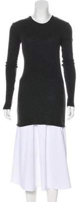 Enza Costa Crew Neck Long Sleeve Sweater