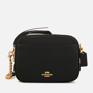 Coach Women's Polished Pebble Leather Camera Bag - Black
