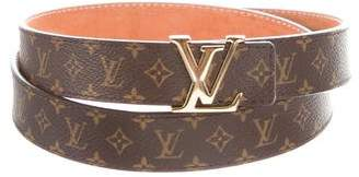 Louis Vuitton Mini Monogram Logo Belt