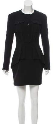 Tom Ford Virgin Wool Mini Dress