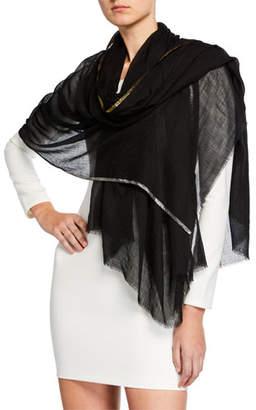 Bindya Accessories Wool Shiny Stripe Stole