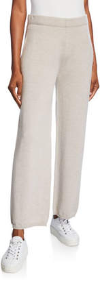 Max Mara Leisure Wool Full-Leg Lounge Pants