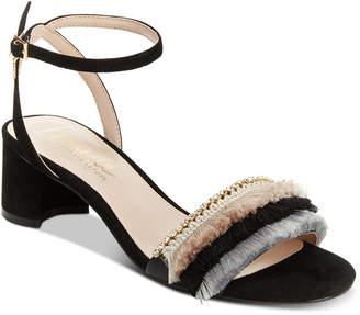Nanette Lepore Darla Fringed Dress Sandals