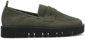 Kennel + Schmenger Kennel & Schmenger Cleasdon Khaki Suede Cleated Loafers