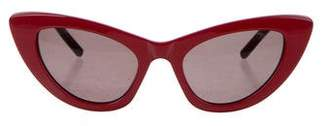 Saint Laurent Tinted Cat-Eye Sunglasses