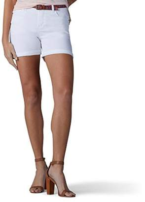 Lee Women's Modern Series Midrise Fit Cora Belted Short