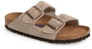 Birkenstock 'Arizona' Soft Footbed Suede Sandal