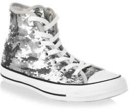 Converse Sequin High-Top Sneakers