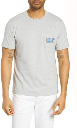 Vineyard Vines Tarpon Sketch Whale Pocket T-Shirt