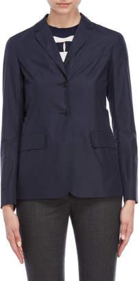 Jil Sander Woven Two-Button Jacket