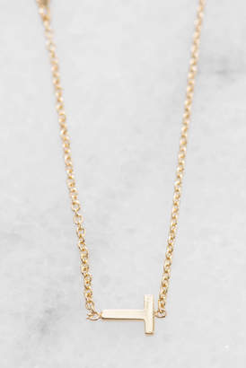 Tai Gold Alphabet Necklace T