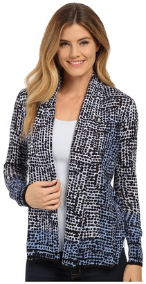 NIC+ZOE Spots and Dots Print Cardy $144 thestylecure.com