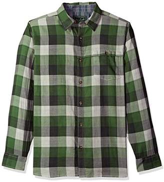 Woolrich Men's Weekend Eco Rich Double Weave Modern Fit Shirt