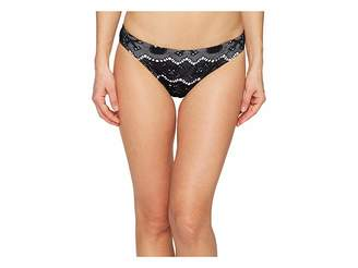 Letarte Medium Coverage Skull Lace Bikini Bottom