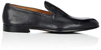 Doucal's Men's Leather Venetian Loafers