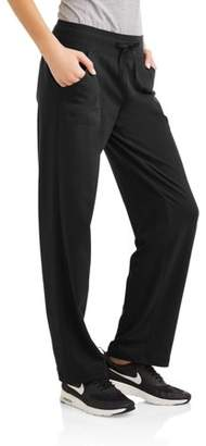 Athletic Works Women's Essential Athleisure Knit Pant Available in Regular and Petite