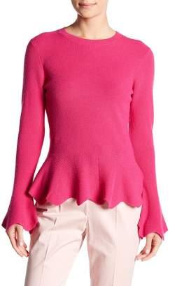 Ted Baker Knitted Peplum Top