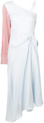 DAY Birger et Mikkelsen Anna October striped one shoulder dress
