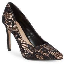 BCBGeneration Heidi Lace Point Toe Pumps