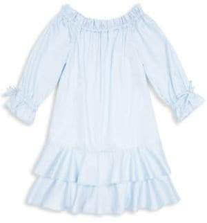 Habitual Girl Daisy Off-The-Shoulder Tiered Ruffle Dress