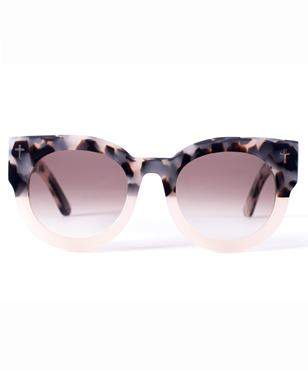 Valley Eyewear Dead Coffin Club Baby Pink Tort Sunglasses