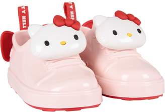 Melissa Pink Girl Shoes With Hello Kitty