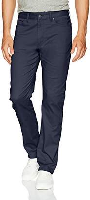Nautica Men's Standard 5 Pocket Stretch Twill Pant