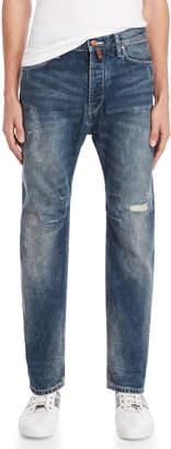 Armani Jeans Low-Rise Regular Fit Jeans
